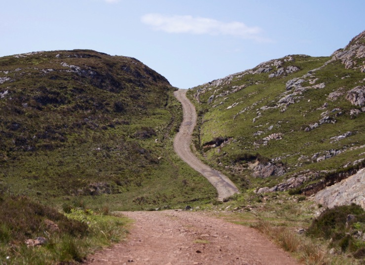 Point of Sleat trail in the Isle of Skye